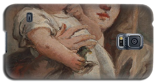 The Madonna And Child With A Goldfinch Galaxy S5 Case