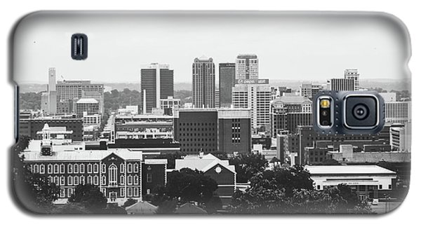 Galaxy S5 Case featuring the photograph The Magic City In Monochrome by Shelby Young