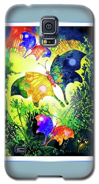 The Magic Of Butterflies Galaxy S5 Case