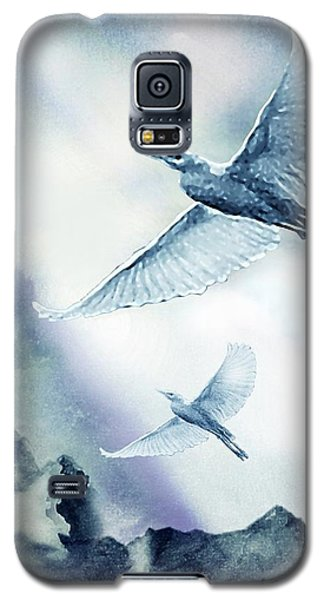 Galaxy S5 Case featuring the painting The Magic Of Flight by Hartmut Jager