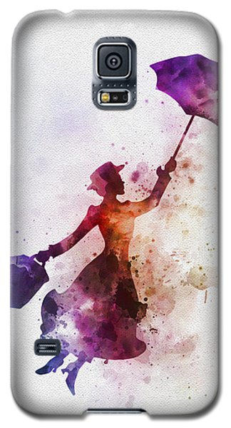 The Magical Nanny Galaxy S5 Case by Rebecca Jenkins
