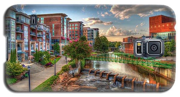 The Main Attraction Reedy River Greenville South Carolina Art Galaxy S5 Case