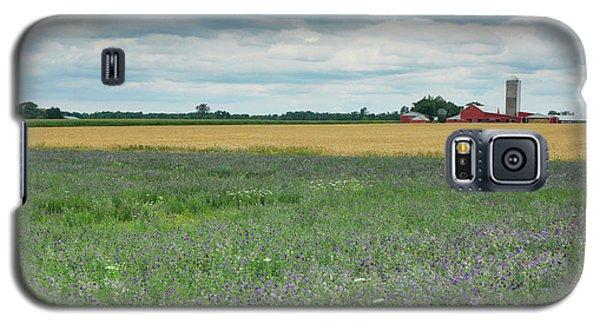 Farming Landscape Galaxy S5 Case