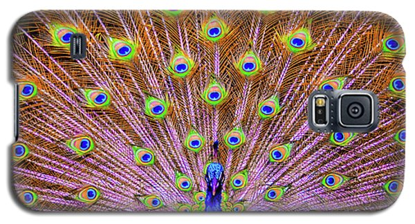 The Majestic Peacock Galaxy S5 Case