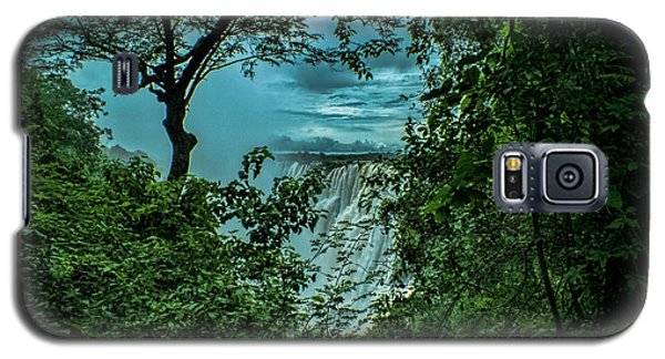 Galaxy S5 Case featuring the photograph The Majestic Victoria Falls by Karen Lewis