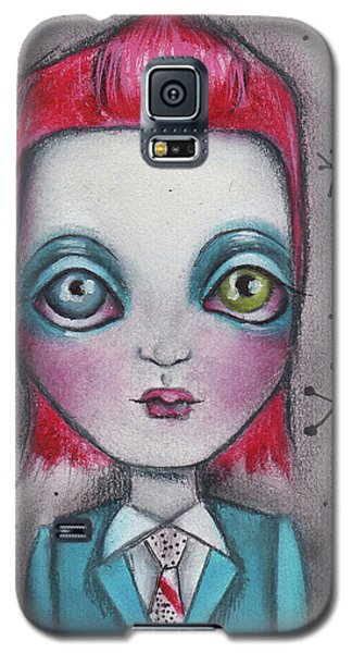 The Man Who Fell To Earth Galaxy S5 Case by Abril Andrade Griffith