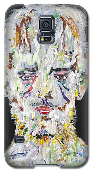 Galaxy S5 Case featuring the painting The Man Who Tried To Become A Mountain by Fabrizio Cassetta