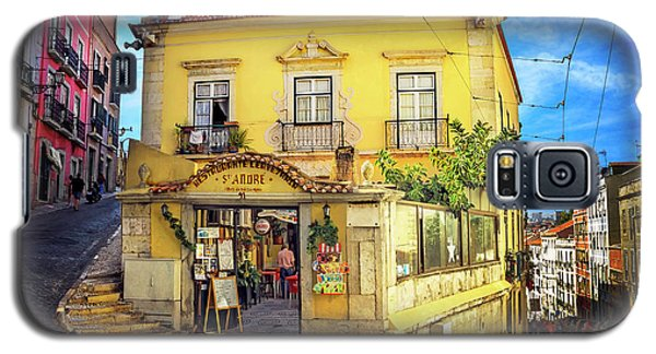 Galaxy S5 Case featuring the photograph The Many Colors Of Lisbon Old Town  by Carol Japp
