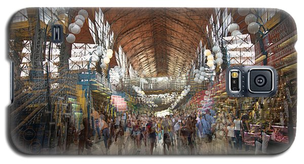 Galaxy S5 Case featuring the photograph The Market Hall by Alex Lapidus