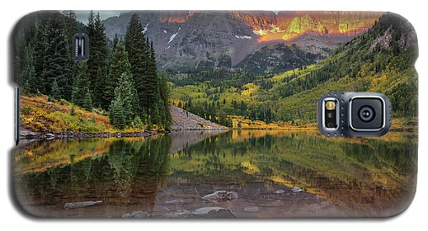The Maroon Bells At Dawn Galaxy S5 Case
