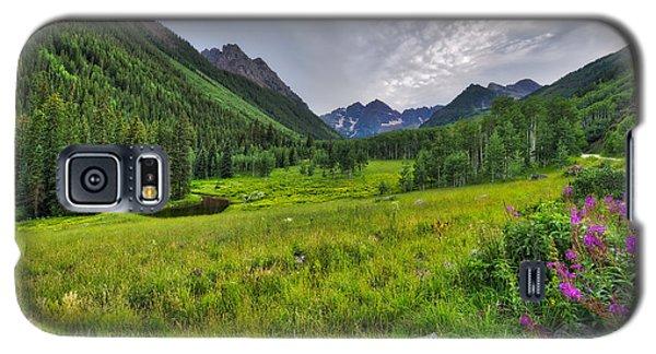 The Maroon Bells - Maroon Lake - Colorado Galaxy S5 Case