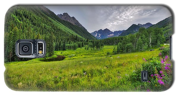 The Maroon Bells - Maroon Lake - Colorado Galaxy S5 Case