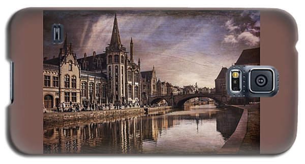 The Medieval Old Town Of Ghent  Galaxy S5 Case by Carol Japp