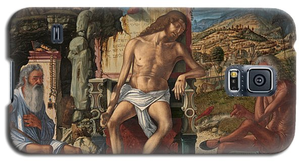 Galaxy S5 Case featuring the painting The Meditation On The Passion by Vittore Carpaccio