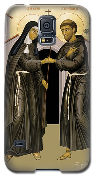 The Meeting Of Sts. Francis And Clare - Rlfac Galaxy S5 Case