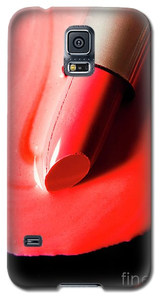 Galaxy S5 Case featuring the photograph The Melting Point Of Hot Fashion by Jorgo Photography - Wall Art Gallery