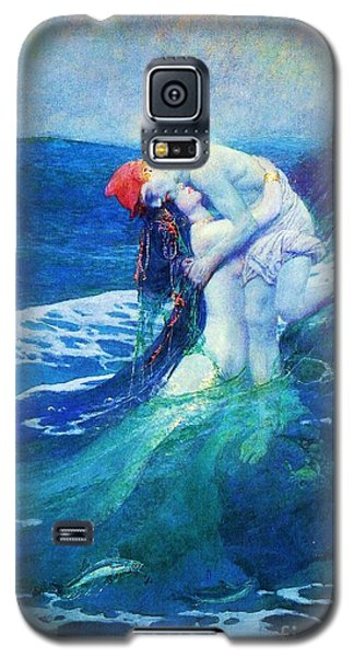 The Mermaid Galaxy S5 Case by Pg Reproductions
