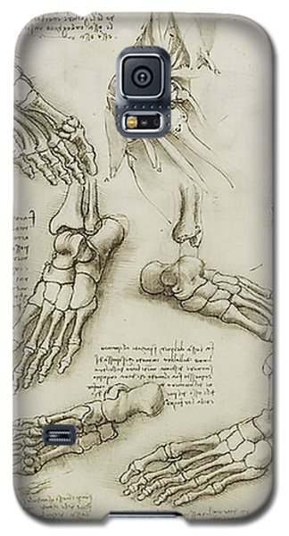 Galaxy S5 Case featuring the painting The Metatarsal by James Christopher Hill