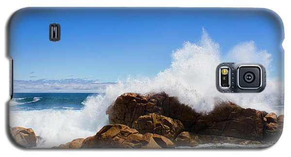Galaxy S5 Case featuring the photograph The Might Of The Ocean by Jorgo Photography - Wall Art Gallery