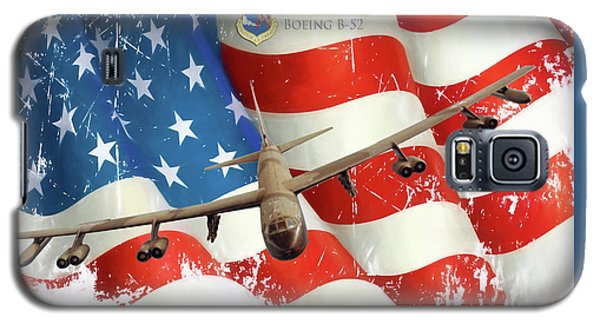 The Mighty B-52 Galaxy S5 Case by Peter Chilelli