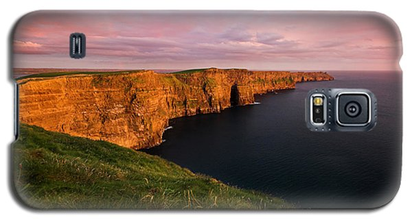 The Mighty Cliffs Of Moher In Ireland Galaxy S5 Case