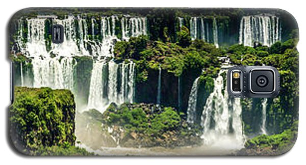 Galaxy S5 Case featuring the photograph The Mighty Iguazu  by Andrew Matwijec