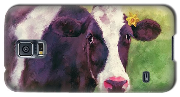 Galaxy S5 Case featuring the photograph The Milk Maid by Lois Bryan