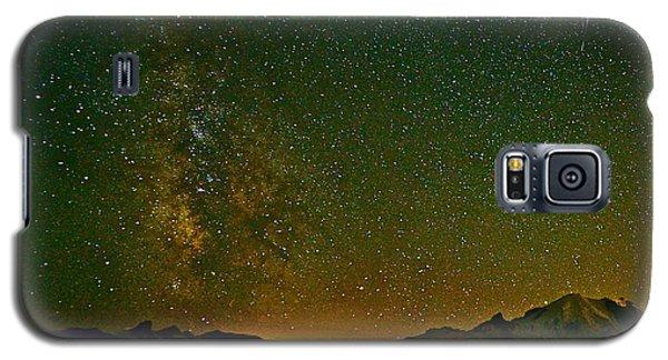 The Milky Way And Mt. Rainier Galaxy S5 Case