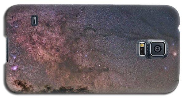 The Milky Way Core Galaxy S5 Case