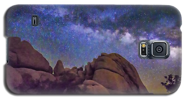 Milky Way Over Indian Rock Galaxy S5 Case