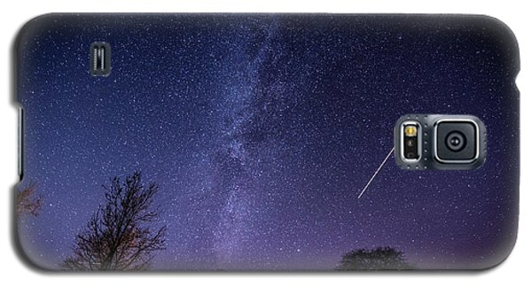 The Milky Way Over Strata Florida Abbey, Ceredigion Wales Uk Galaxy S5 Case