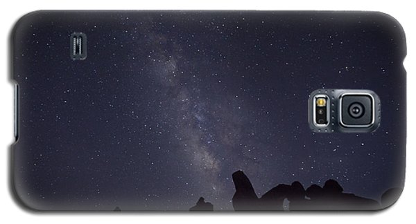 The Milky Way Over Turret Arch Galaxy S5 Case