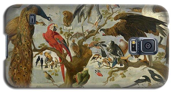 Meadowlark Galaxy S5 Case - The Mockery Of The Owl by Jan van Kessel