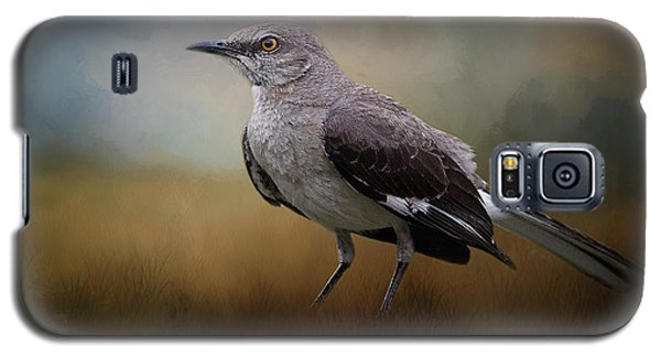 Galaxy S5 Case featuring the photograph The Mockingbird A Bird Of Many Songs by David and Carol Kelly