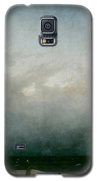 Monk By The Sea  Galaxy S5 Case