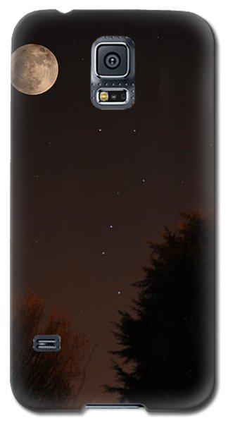 The Moon And Ursa Major Galaxy S5 Case