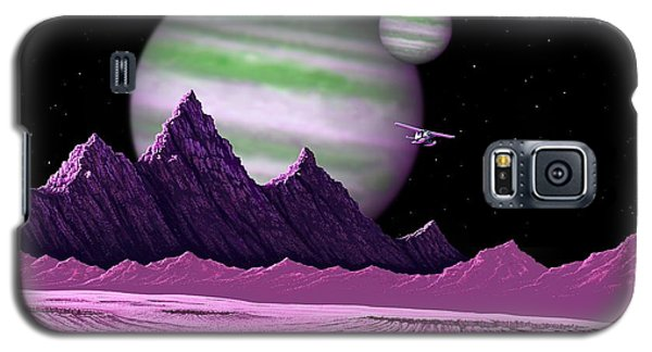 Galaxy S5 Case featuring the digital art The Moons Of Meepzor by Scott Ross