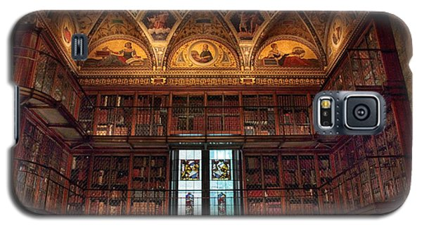 Galaxy S5 Case featuring the photograph The Morgan Library Window by Jessica Jenney