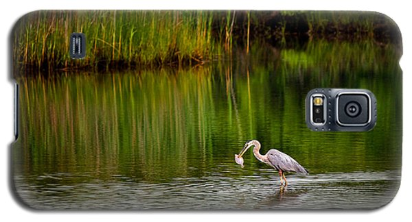 The Morning Catch Galaxy S5 Case by Mark Miller