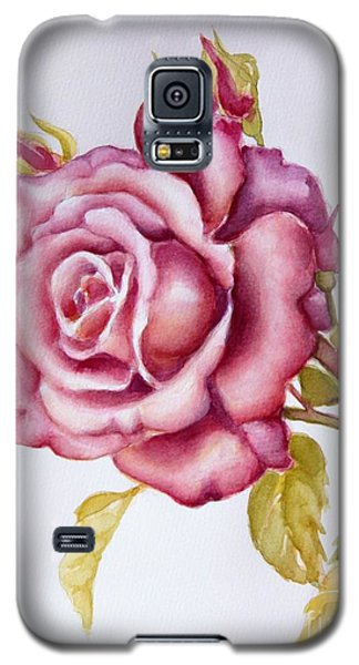 The Morning Rose Galaxy S5 Case