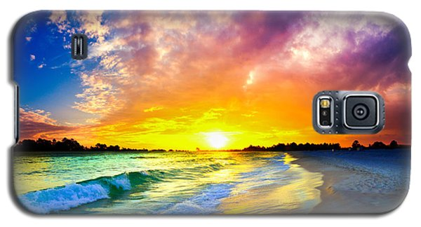 The Most Beautiful Sunset In The World Galaxy S5 Case