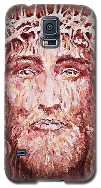 The Most Loved Jesus Christ Galaxy S5 Case by AmaS Art