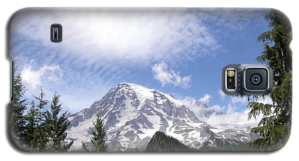 The Mountain  Mt Rainier  Washington Galaxy S5 Case by Michael Bessler