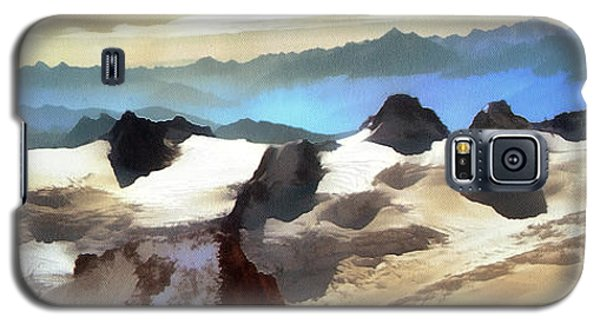 The Mountain Paint Galaxy S5 Case by Odon Czintos