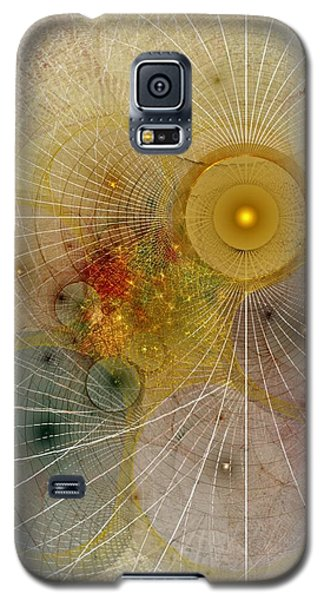 The Mourning Of Persephone - Fractal Art Galaxy S5 Case