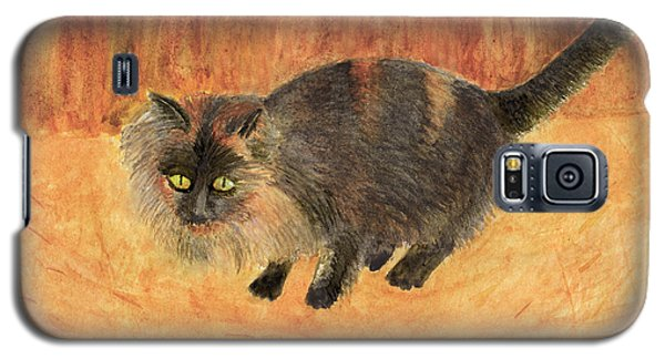 The Mouser, Barn Cat Watercolor Galaxy S5 Case