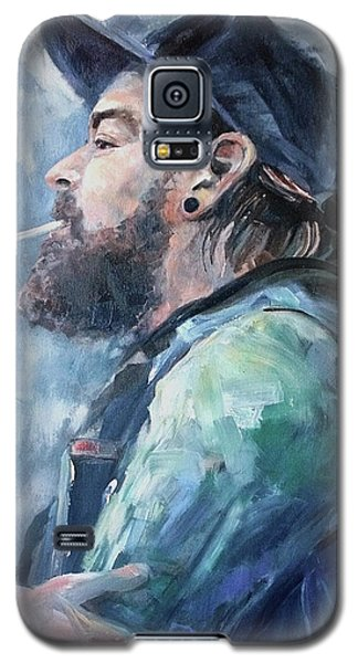 The Music Man Galaxy S5 Case by Diane Daigle