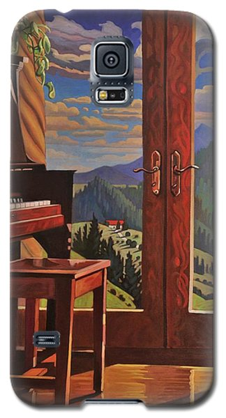 The Music Room Galaxy S5 Case by Art West