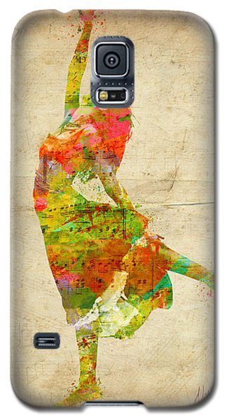 The Music Rushing Through Me Galaxy S5 Case