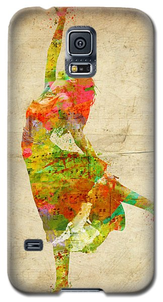 The Music Rushing Through Me Galaxy S5 Case by Nikki Smith
